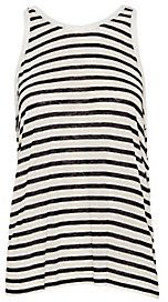 T by Alexander Wang Striped Tank Top
