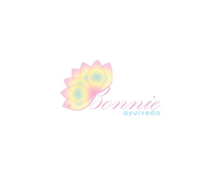 Logo Idea for Bonnie ayurveda #logo #logotype #branding #stationary #graphic #design #illlustrator