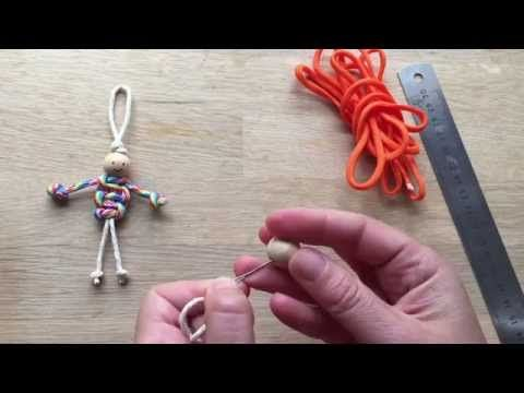 Easy Macrame Dolls (using Paracords) - Red Ted Art's Blog