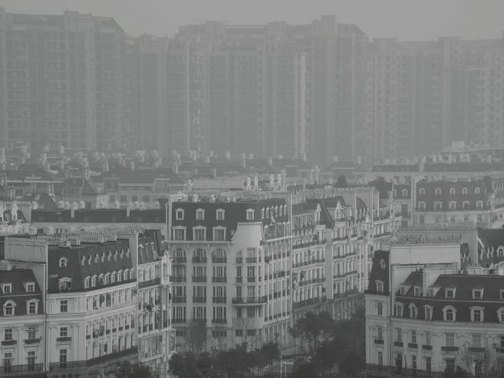 Duplitecture Google Search Duplitecture Pinterest Photos - Tianducheng a ghostly abandoned clone of paris in the middle of china