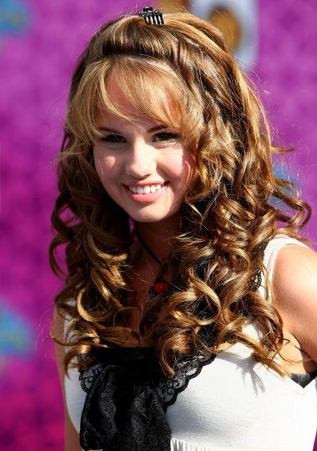Schnelle Und Einfache Frisuren Für Lange Lockige Haare Einfache