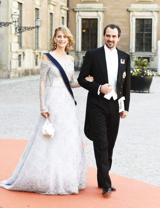 Prince Nikolaos and Princess Tatiana of Greece and Denmark