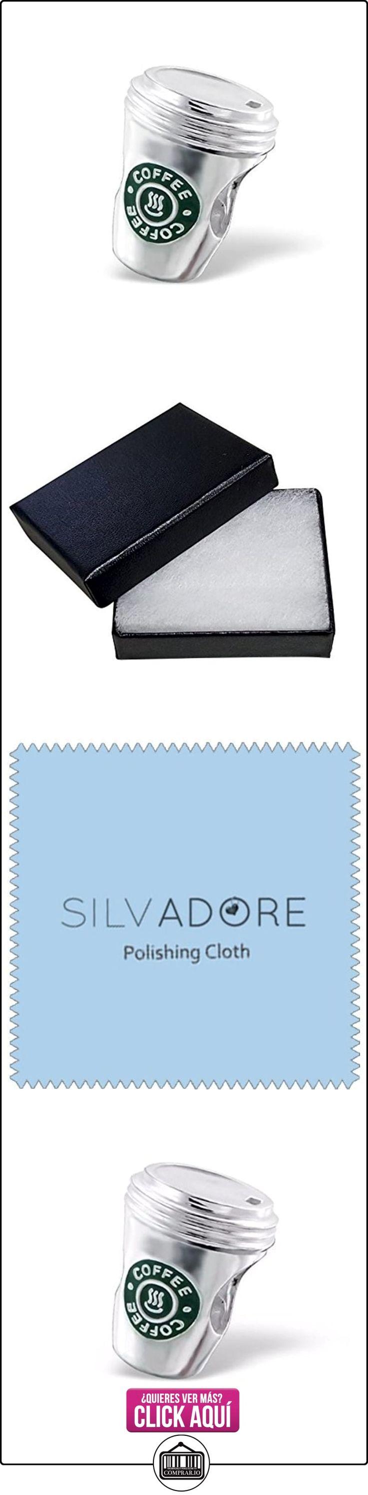 Silvadore-plateado cuentas-Starbucks estilo taza de café Bead-925Sterling encanto 3d tobogán en-se ajusta Pandora Pulsera Europea-en caja de regalo libre  ✿ Joyas para mujer - Las mejores ofertas ✿ ▬► Ver oferta: http://comprar.io/goto/B00YJUICJI