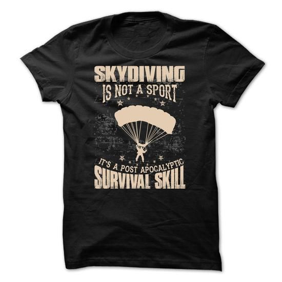 Awesome Skydiving  Shirt - #striped tee #cute sweater. WANT => https://www.sunfrog.com/Sports/Awesome-Skydiving-Shirt-29464065-Guys.html?68278