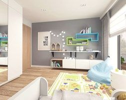 Pokój dziecięcy - Średni pokój dziecka dla chłopca dla dziewczynki dla malucha, styl nowoczesny - zdjęcie od MOTIF