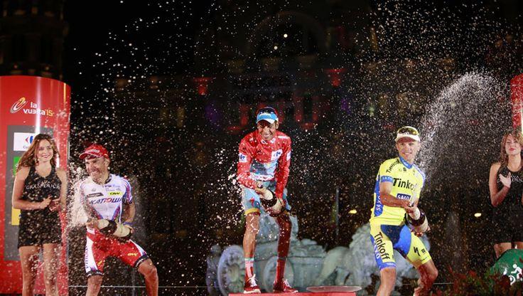 The finals of 2016, La Vuelta Spain Cycling