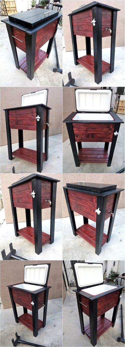 There are many materials that can be reshaped and recycled to create useful things, but the wood pallets are the best because they are strong and furniture can be made from them; which is a thing that requires spending a lot of money if a person is planning to change the overall look of the home or planning to buy a new home. It is not good to throw away the wooden pallets if they are available at home because they can be reshaped into amazing things just like the recycled wooden pallet…