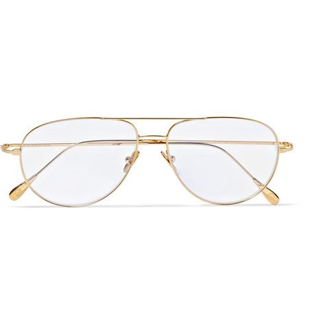 Kingsman: The Golden Circle sees the British spy agency team up with its US counterpart, the 'Statesman', and these Cutler and Gross glasses of the same name are worn by Champ - the head of the organisation, played by a distinguished looking Mr Jeff Bridges. The gold-tone aviator-style frames work with both UV or prescription lenses, but the latter option is truer to the film's retro rodeo charm.