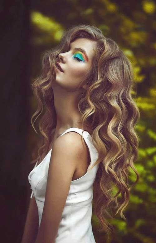 Kalın Su Dalgası Saç Modeli
