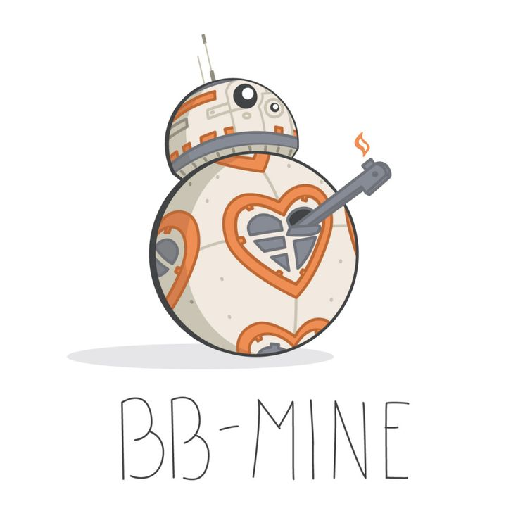 Star Wars: The Force Awakens valentine