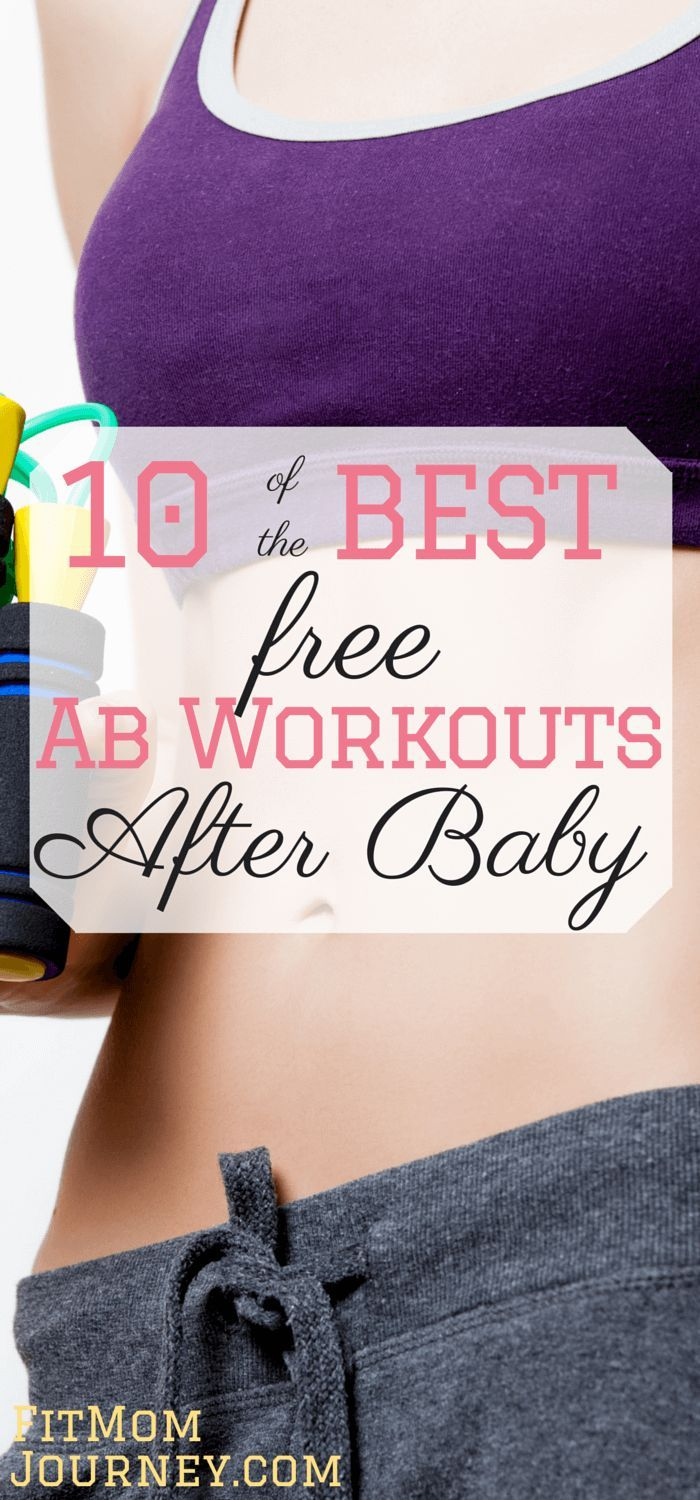 Abs are hard to come by - especially post baby. But, with some strategic ab workouts after baby you can get the abs you've always dreamed of. fitmomjourney.com...