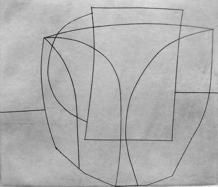 BEN NICHOLSON  Sig Etching Modern British Art 1967