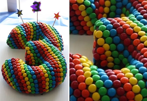Amazing Third Birthday Cake, Mouths of Mums | Top 20 most amazing cake ideas. #cake #ideas #party #3