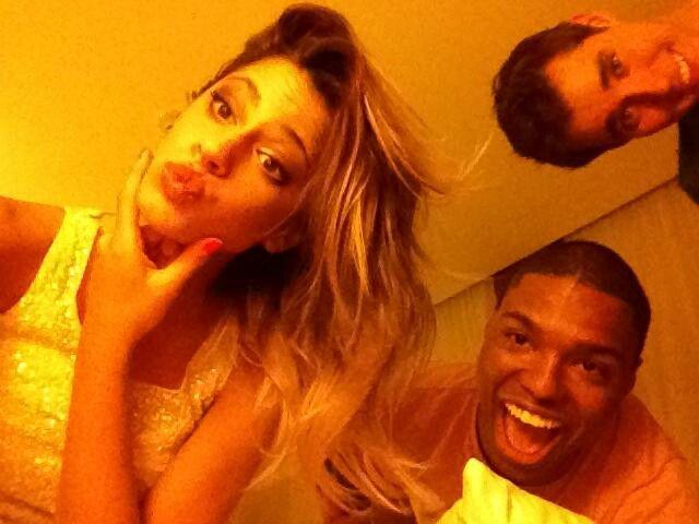 Tini con Samu y Jorge :)
