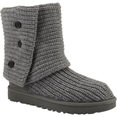 UGG Classic Cardy 2 Comfort Winter Boots - Womens Grey