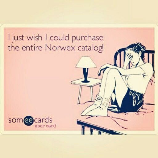 I just wish I could purchase the entire Norwex catalog!