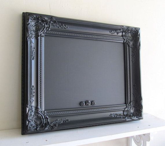Chalk BoardFrames Chalkboards, Chalkboards Vintage, Magnets Boards, Black Frames, Magnets Chalkboards, Chalk Boards, Booths Signs, Black Boards, Boards Black