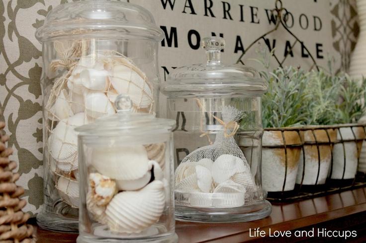 Many uses for using empty Glasshouse Candle Jars