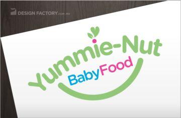 Yummie Nut solicitó a Design Factory el diseño de un logotipo profesional…