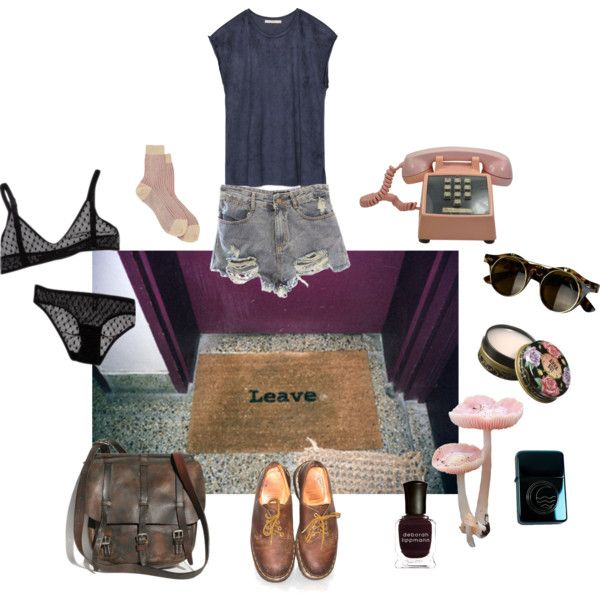 ..and don't ever come back by papawine on Polyvore featuring Zara, Maria La Rosa, Dr. Martens, Anna Sui and Deborah Lippmann