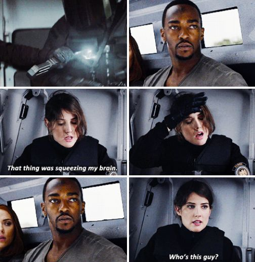Maria Hill is the superhero we need