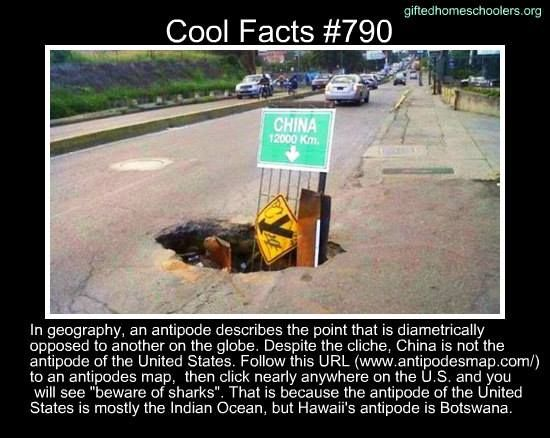 Cool facts #790  http://www.atlasobscura.com/articles/the-hole-truth-about-why-we-dig-to-china