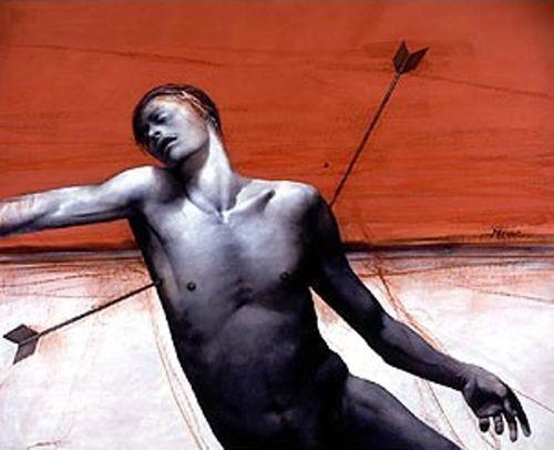 David Manzur (b Neira, Colombia, 1929): San Sebastián, 2000