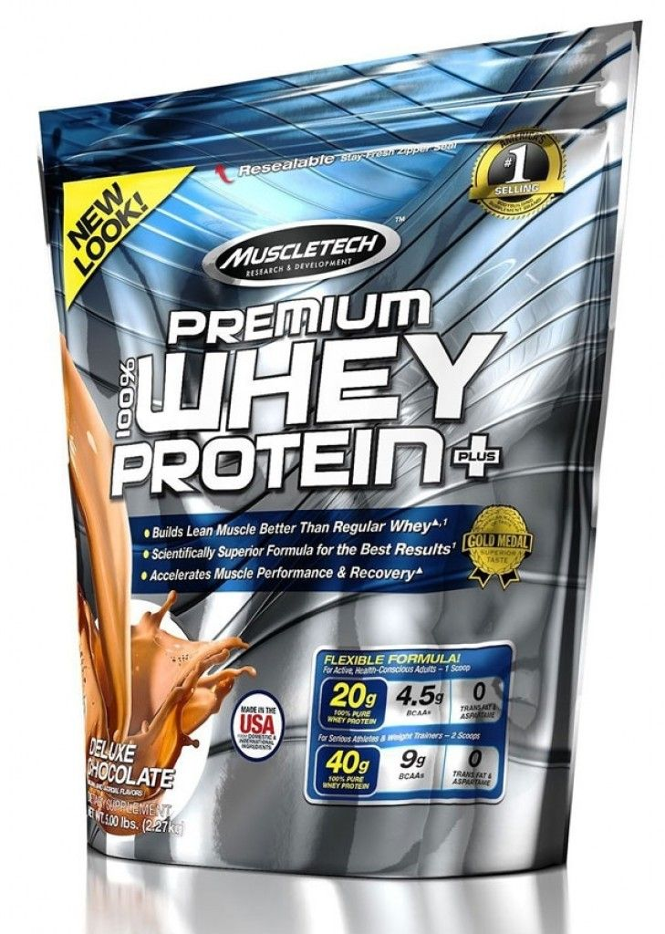 Muscletech Premium Whey Protein +