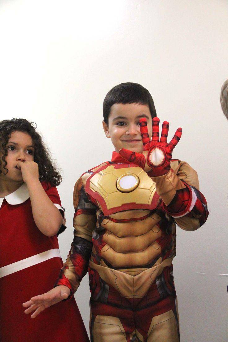 """Ironman"" costume! @ECE's Halloween celebrations (Oct, 2015)"