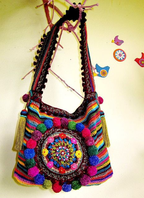~ Colorful Ethnic bag...My Tribe ~ | Flickr - Photo Sharing!