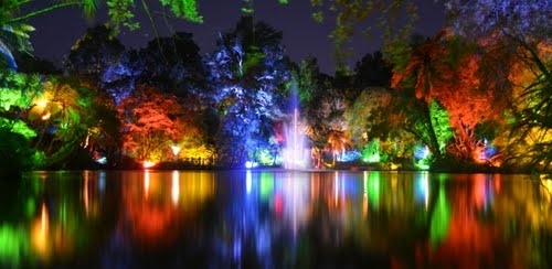 Fountain Lake, Festival of Lights | New Plymouth