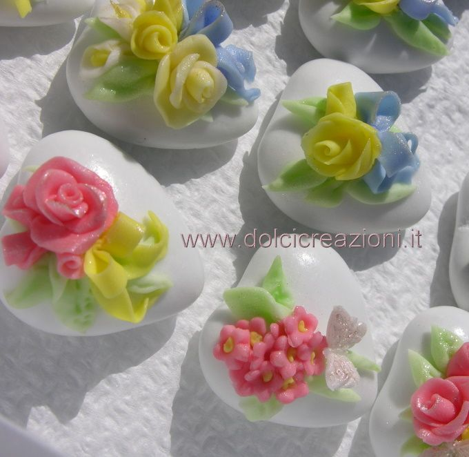 Confetti decorati - confetti a cuore per matrimonio aggiunte foto