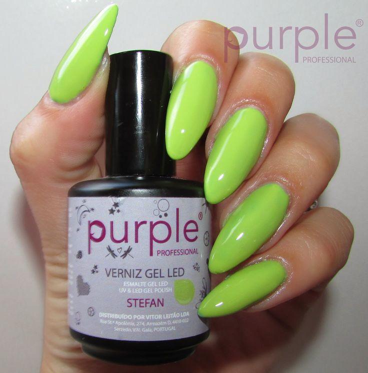 Betty Nails: Purple Professional Gel Polish Swatches