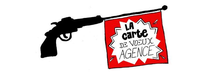 La carte de voeux en agence de publicité