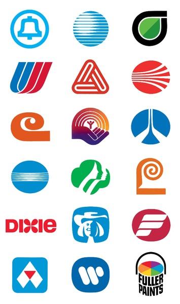 saul bass  File:Compilation of Saul Bass logos.png