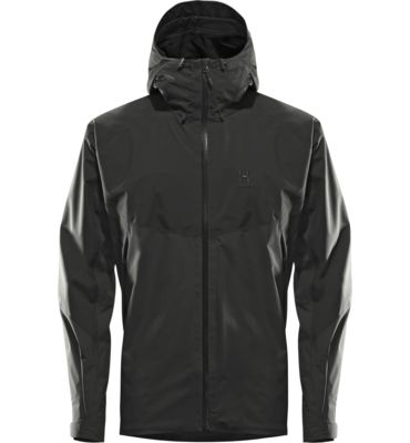 Virgo Jacket Men - This waterproof, minimalistic jacket will keep you dry through any adventure. Sporty cut, light and packable