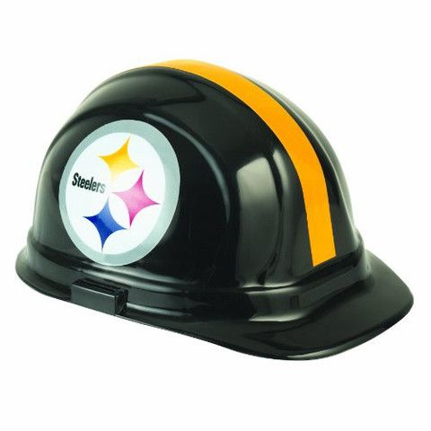 Pittsburgh Steelers Multi-Sport Hard Hat | #Pittsburgh #Pennsylvania #Steelers #PittsburghSteelers #Memorabilia #Sports #Merchandise #Football #NFL | Order Today At www.sportsnutemporium For Only $21.50
