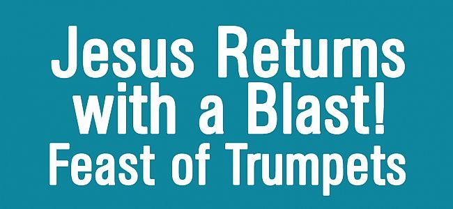 jesus returns on rosh hashanah