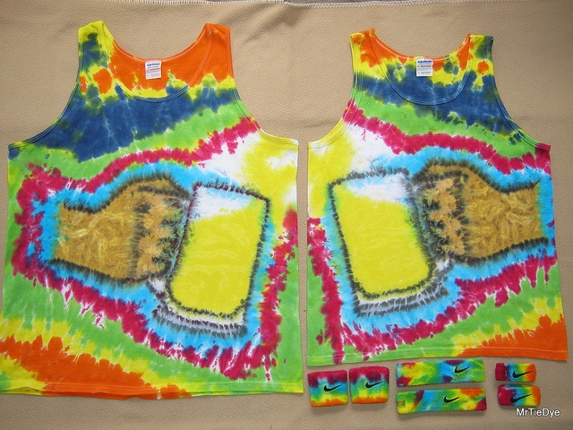 Beer Mug 6 Washed and dry... ready for the Beer Olympics!! by The MrTieDye, via Flickr