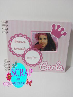 Scrap con Raquetuille: Álbum para Carla