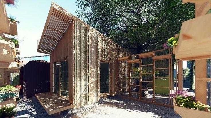 """'Arquitectura para los sin suelo': Inmigración haitiana en Chile La """"Experiencia Detonante II: Contacto con la Materia"""", es la actividad que abre el segundo ciclo de la carrera de arquitectura -correspondiente al ciclo de licenciatura- en la Universidad del Desarrollo. Dicha actividad busca situar a sus alumnos frente a las complejidades y posibilidades arquitectónicas que sugiere el trabajo en contacto con la materia  http://wp.me/p6HjOv-3VP ConstruyenPais.com"""