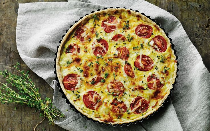 Super skøn tomattærte som hele familien vil elske.