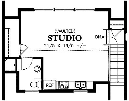Garage Studio Apartment Plans the 25+ best garage studio apartment ideas on pinterest | above