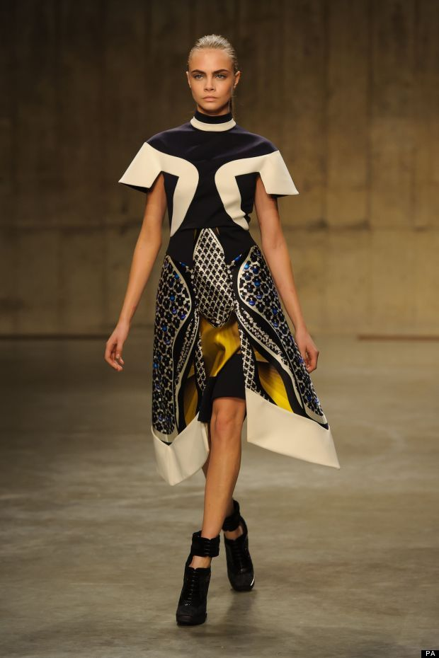 242 best fashion images on pinterest black white dress in and gorgeous lines from peterpilotto london fashion week lfw ccuart Gallery
