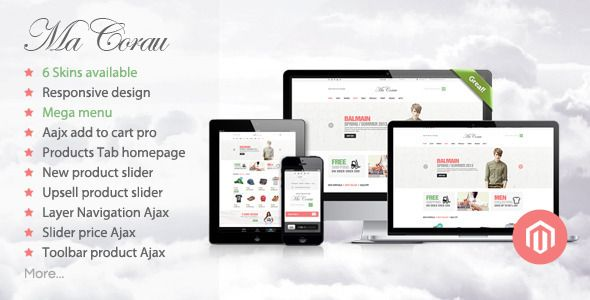 Shopping Corau - Fashion Responsive Magento ThemeIn our offer link above you will see