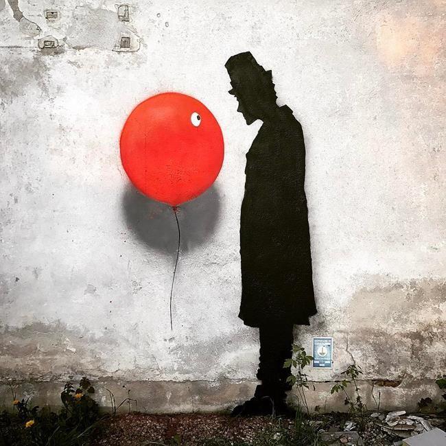 Sokakların Yeni Banksy'si Kenny Random'dan Etkileyici Sokak Sanatı Eserleri Sanatlı Bi Blog 25