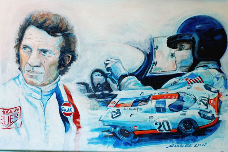 Daniel Šenkeřík Motorsport art - www.p1gallery.cz