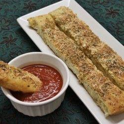 Cheesy Garlic Breadsticks Pizza Hut Style