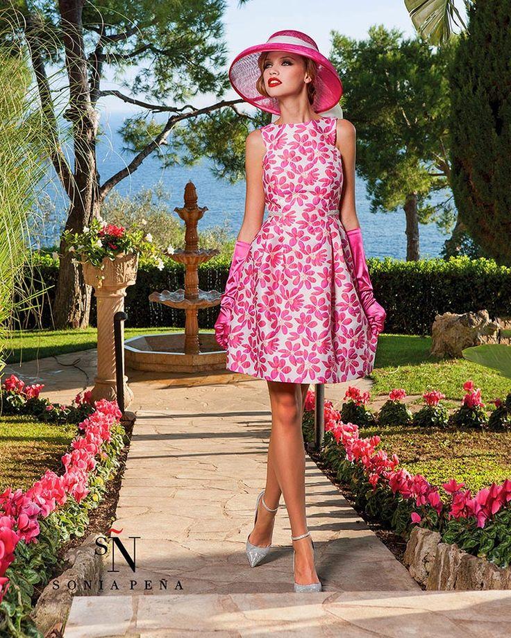 Vestidos de Coctel 2016. Colección Primavera Verano 2016. Sonia Peña - Ref. 1160058