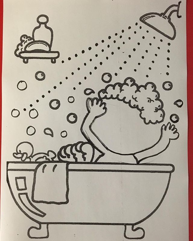 Sagligimi Korumak Icin Banyo Yapmaliyim Kalibimiz Fotosunu Cekip Ciktisi Alabilir Lesson Plans Preschool Activities Kids Learning Activities Kids Art Class